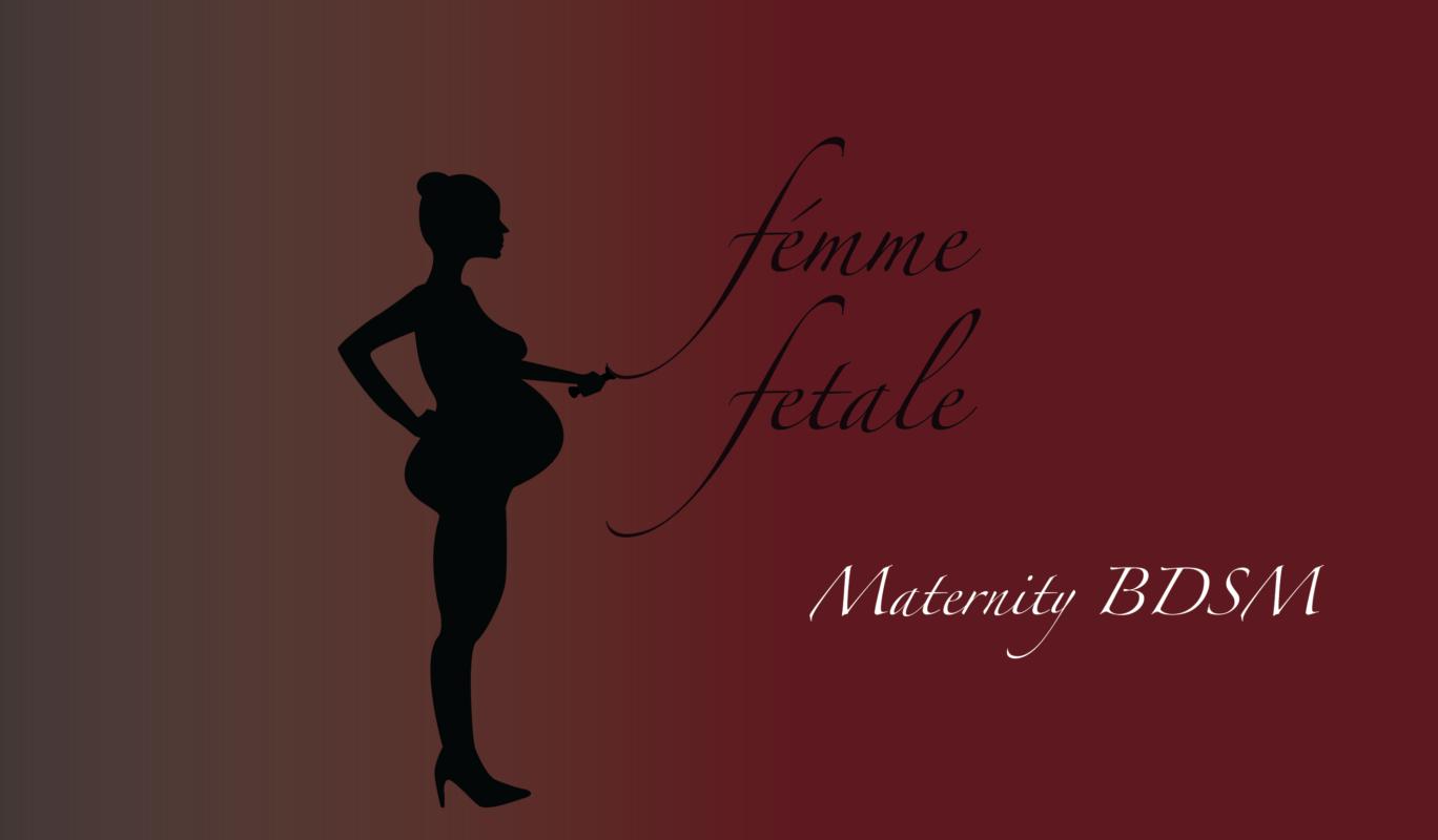 Femme fetale, vestuario BDSM premamá